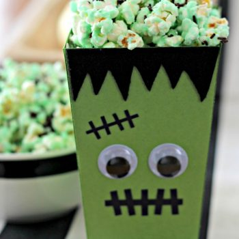 Frankenstein Popcorn Box