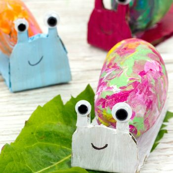 Shake-Painted Rock Snails