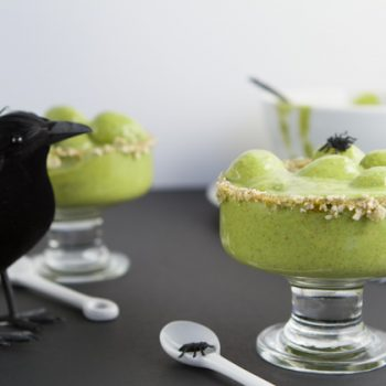 Witch's Brew Breakfast Pudding