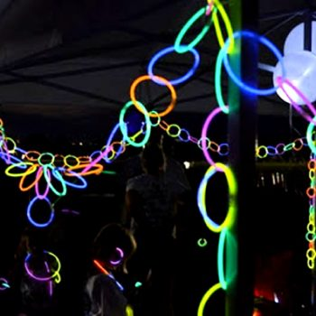Glow Necklace Party Decorations