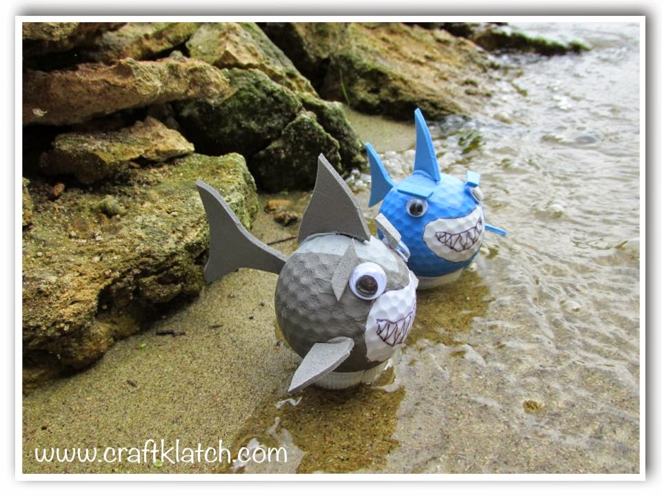 Charmant Golf Ball Sharks