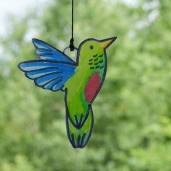 Hanging Hummingbird Suncatcher