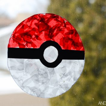 Pokeball Suncatcher