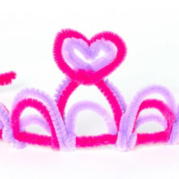 Pipe Cleaner Princess Tiara