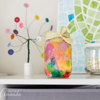 Watercolor Luminaries