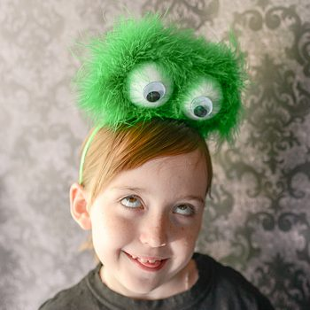 Furry Monster Headband