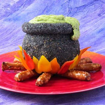 Cheese Ball Cauldron
