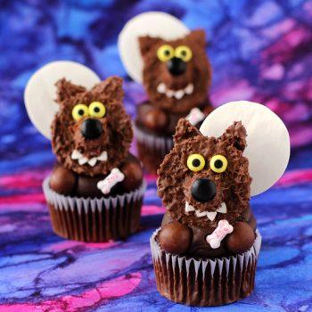 Reese's Werewolf Cupcakes