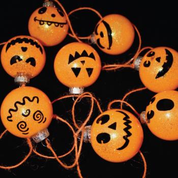 Jack-o'-Lantern Halloween Garland