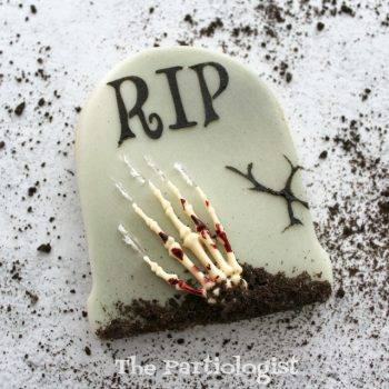 RIP Tombstone Cookie