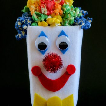 Popcorn Box Clown