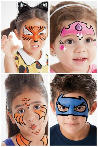 Halloween Face Paint Ideas For Women.Halloween Face Painting Fun Family Crafts