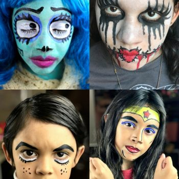 Halloween costumes archives fun family crafts halloween face painting solutioingenieria Image collections