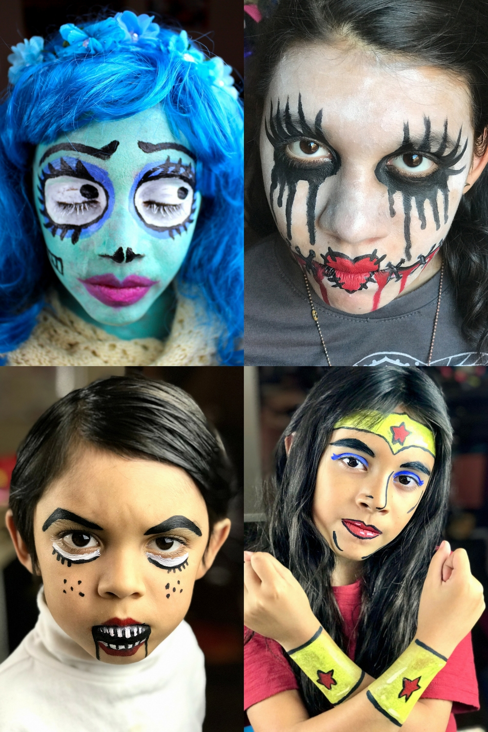 Halloween Face Painting Fun Family Crafts
