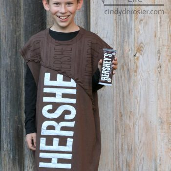 T-Shirt Hershey Bar Halloween Costume