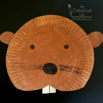 Paper Plate Beaver