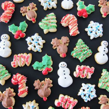 Christmas Spritz Cookies