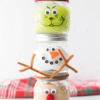 Christmas Slime Jars
