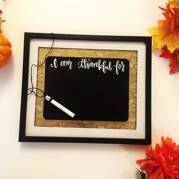 Thankful Chalkboard Frame
