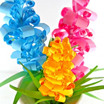 Hyacinth Paper Flowers