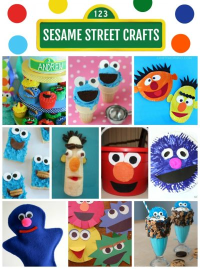 Sesame Street Crafts And Recipes Fun Family Crafts