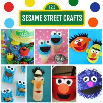 Sesame Street Crafts and Recipes
