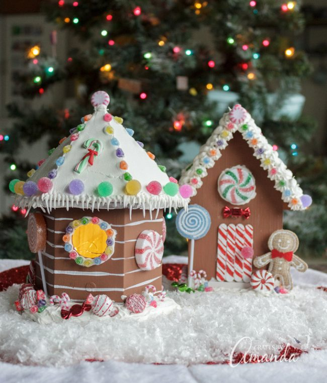 Birdhouse Gingerbread House Fun Family Crafts