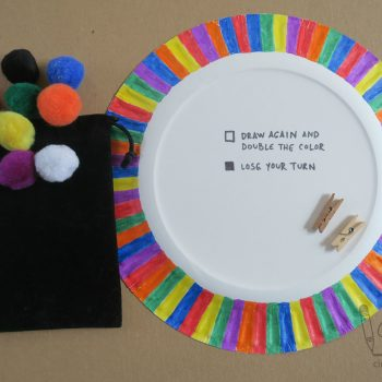 Travel-Friendly Paper Plate Game