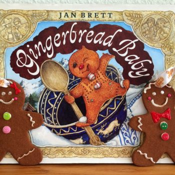 Cinnamon Dough Gingerbread Ornaments