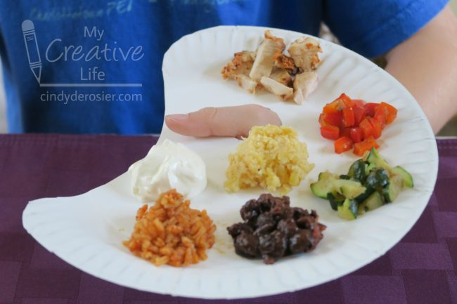 Make mealtime extra fun by serving dinner on a paper plate artistu0027s palette! Itu0027s so easy to do and the meal will be memorable. & Paper Plate Artistu0027s Palette Dinner | Fun Family Crafts