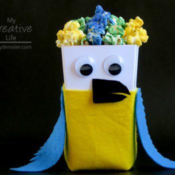 Popcorn Box Macaw