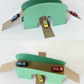 Toy Car Bridge and Tunnel