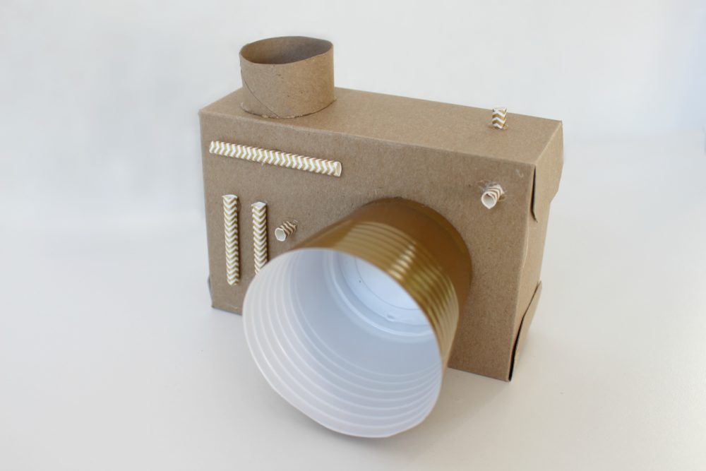 Cardboard Camera Fun Family Crafts