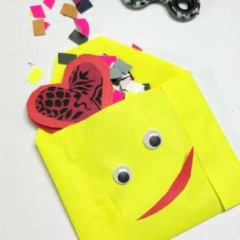 Folded Paper Valentine