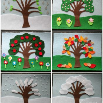 Four Seasons Felt Board