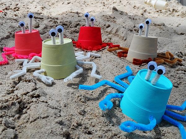 Foam Cup Crabs