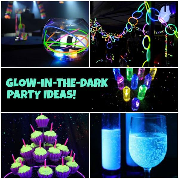 best glow in the dark party ideas