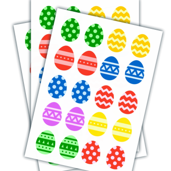Printable Easter Egg Matching Game