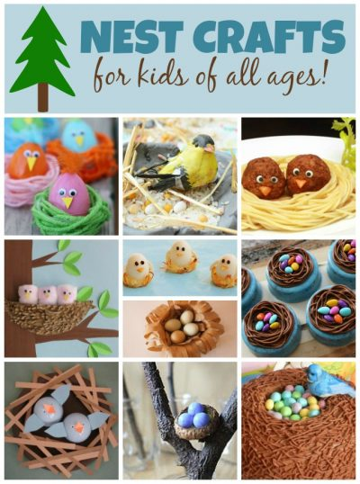 bird nest crafts for kids