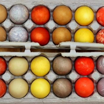 All-Natural Dyed Easter Eggs