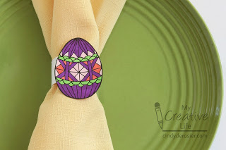 Easter Egg Napkin Rings
