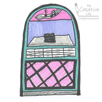 How to Draw a Jukebox