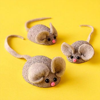 Styrofoam Ball Mice