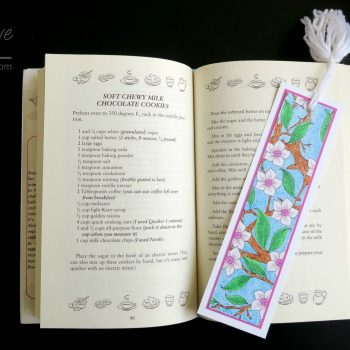 Bookmarks from a Coloring Page