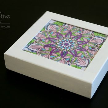 Coloring Page Gift Box