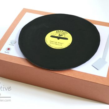 Cereal Box Record Player