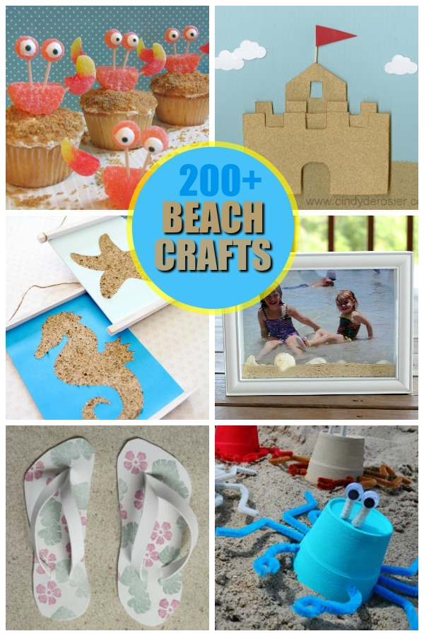 beach craft ideas for kids summer crafts for 5929