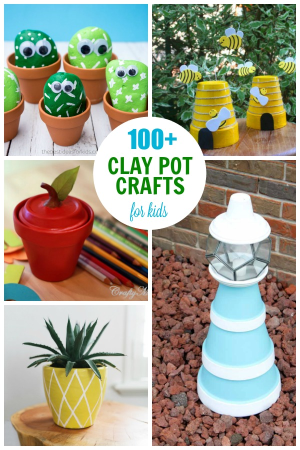 Clay Pot Crafts Plenty Of Terra Cotta Pot Project Ideas