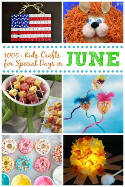 Kids Crafts For Special Days In June Fun Family Crafts