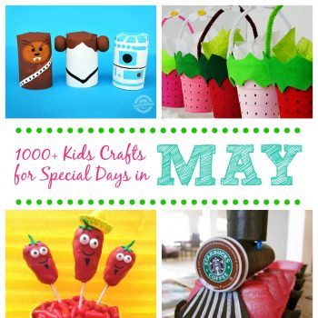 Kids Crafts for Special Days in May